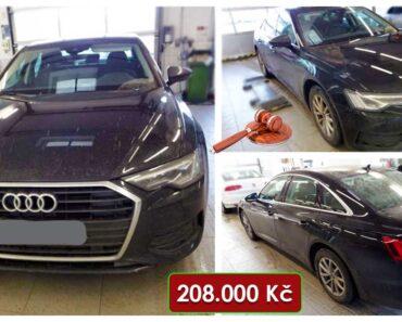 Do 8.3.2021 Aukce automobilu Audi A6 2.0 TDI. Vyvolávací cena 208.000 Kč, ➡️ ID788930