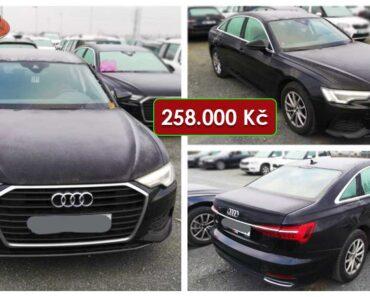 Do 8.3.2021 Aukce automobilu Audi A6 2.0 TDI. Vyvolávací cena 258.000 Kč, ➡️ ID788904