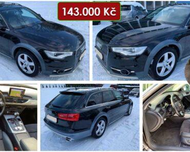 Do 10.3.2021 Aukce automobilu Audi A6 3.0 TDi. Vyvolávací cena 143.000 Kč, ➡️ ID788642