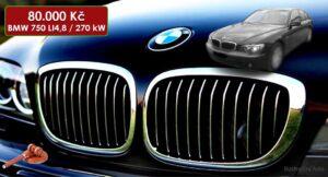 BMW 750 Li 4,8 - 80.000 Kč