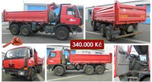 Do 22.4.2021 Výběrové řízení na prodej nákladního automobilu Tatra 815. Min. kupní cena 340.000 Kč, ➡️ ID793390