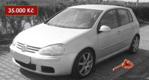 Volkswagen Golf - 35.000 Kč