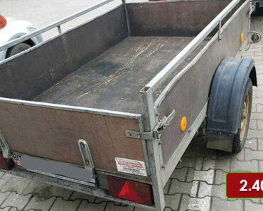 3.5.2021 Dražba vozíku Podlešák. Vyvolávací cena 2.400 Kč, ➡️ ID795727