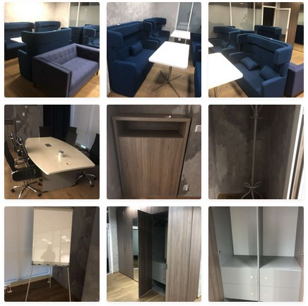 Do 31.3.2021 Výběrové řízení na prodej nábytku (kancelářské vybavení, židle, pohovky, stoly, skříňky a další). Min. kupní cena - prodej nejvyšší nabídce Kč, ➡️ ID787568