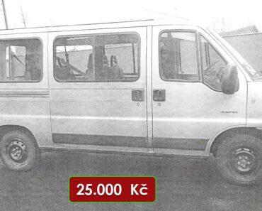 Do 3.5.2021 Výběrové řízení na prodej automobilu Citroën Jumper 2.2 HDi. Min. kupní cena 25.000 Kč, ➡️ ID798779
