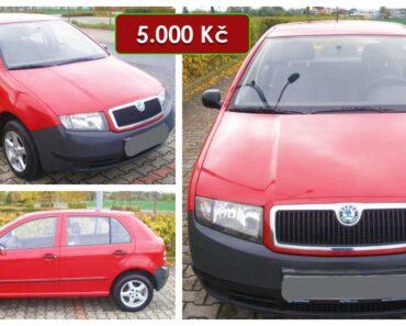 11.5.2021 Aukce automobilu Škoda Fabia. Vyvolávací cena 5.000 Kč, ➡️ ID797160