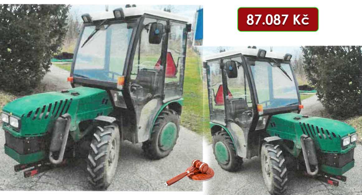 Do 22.4.2021 Výběrové řízení na prodej traktoru Vega 30HP. Min. kupní cena 87.087 Kč, ➡️ ID798811