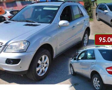 Do 19.4.2021 Aukce automobilu Mercedes-Benz ML 320 CDI 4MATIC. Vyvolávací cena 95.000 Kč, ➡️ ID797349
