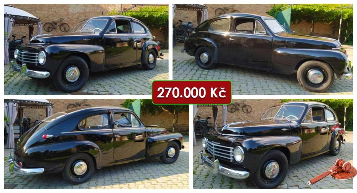 6.5.2021 Aukce automobilu Volvo PV 444 H. Vyvolávací cena 270.000 Kč, ➡️ ID798720
