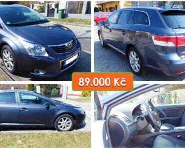 19.4.2021 Dražba automobilu Toyota Avensis 2.2 D. Vyvolávací cena 89.000 Kč, ➡️ ID797202