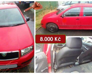 Do 6.5.2021 Výběrové řízení na prodej automobilu Škoda Fabia. Min. kupní cena 8.000 Kč, ➡️ ID798430