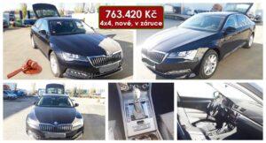 Do 27.5.2021 Výběrové řízení na prodej automobilu Škoda Superb 2.0 TSI. Min. kupní cena 763.420 Kč, ➡️ ID800565