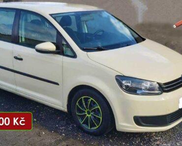 29.4.2021 Aukce automobilu Volkswagen Touran. Vyvolávací cena 40.000 Kč, ➡️ ID2139864