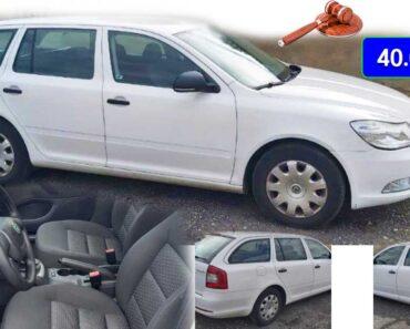 27.4.2021 Aukce automobilu Škoda Octavia II. Vyvolávací cena 40.000 Kč, ➡️ ID797184
