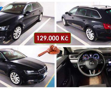 Do 20.4.2021 Aukce automobilu Škoda Superb Style 2.0 TDI DSG. Vyvolávací cena 129.000 Kč, ➡️ ID797923