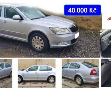 27.4.2021 Aukce automobilu Škoda Octavia II. Vyvolávací cena 40.000 Kč, ➡️ ID797163