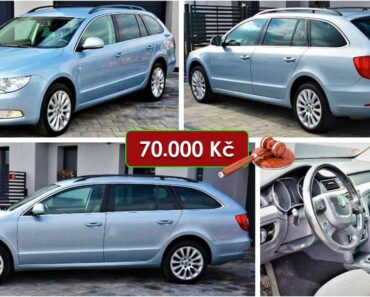 19.5.2021 Aukce automobilu Škoda Superb Combi. Vyvolávací cena 70.000 Kč, ➡️ ID798145