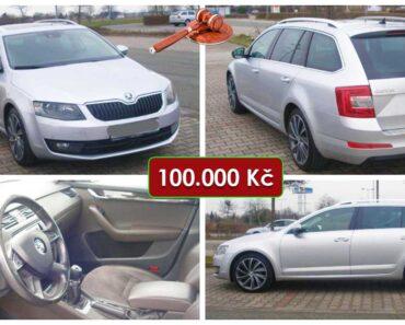 20.5.2021 Aukce automobilu Škoda Octavia 2.0 TDI. Vyvolávací cena 100.000 Kč, ➡️ ID798385