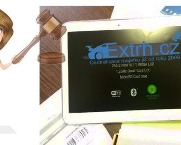 3.5.2021 Dražba tabletu (Samsung černý). Vyvolávací cena 1.000 Kč, ➡️ ID795757