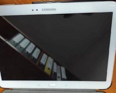3.5.2021 Dražba tabletu (Samsung bílý). Vyvolávací cena 1.000 Kč, ➡️ ID795750