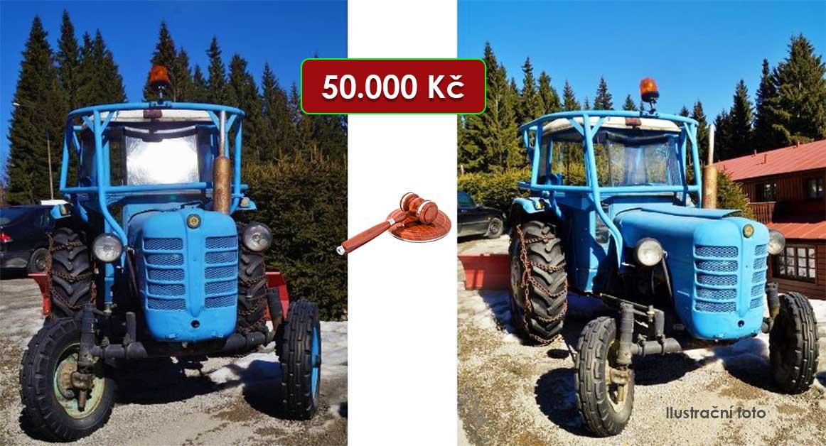Do 30.4.2021 Výběrové řízení na prodej traktoru Zetor 4011 s vlekem. Min. kupní cena 50.000 Kč, ➡️ ID798795