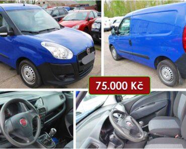 15.5.2021 Dražba automobilu Fiat Doblo Cargo. Vyvolávací cena 75.000 Kč, ➡️ ID802797