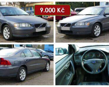 Do 17.5.2021 Aukce automobilu Volvo S60, CNG. Vyvolávací cena 9.000 Kč, ➡️ ID802965