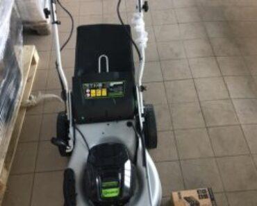 25.6.2021 Aukce stroje (Sekačka aku značky Greenworks). Vyvolávací cena 500 Kč, ➡️ ID806417