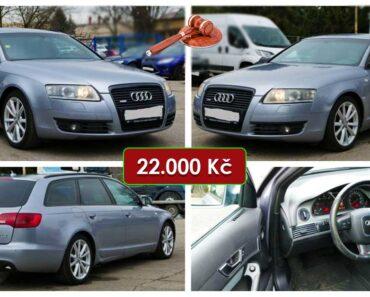 Do 17.5.2021 Aukce automobilu Audi A6 Avant Quattro 3.0 TDi. Vyvolávací cena 22.000 Kč, ➡️ ID803078
