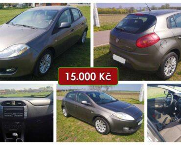 Do 18.5.2021 Aukce automobilu Fiat Bravo 1.9 JTD. Vyvolávací cena 15.000 Kč, ➡️ ID802312