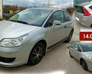 8.7.2021 Dražba automobilu Citroën C4 1.6i. Vyvolávací cena 14.000 Kč, ➡️ ID806268