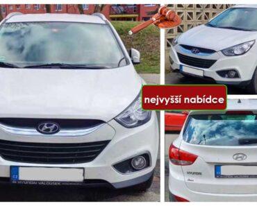 Do 17.5.2021 Výběrové řízení na prodej automobilu Hyundai iX35. Min. kupní cena - prodej nejvyšší nabídce Kč, ➡️ ID801785
