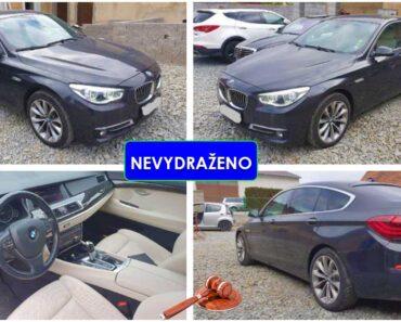 Zisková Dražba auta BMW 535D Xdrive – vůbec nevydraženo, nebylo podání