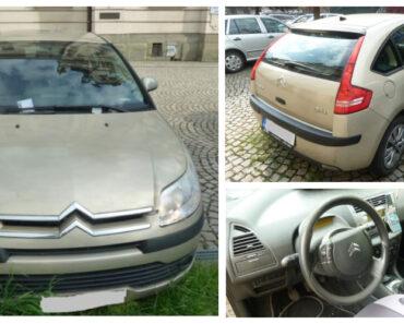 2.7.2021 Dražba automobilu Citroën C4. Vyvolávací cena 10.000 Kč, ➡️ ID806515