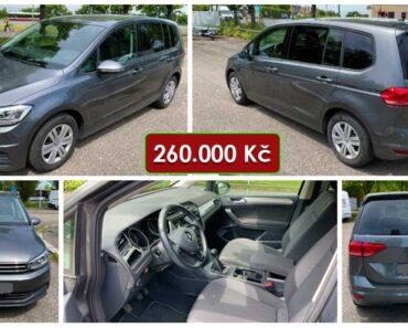 15.6.2021 Dražba automobilu Volkswagen Touran 1.6 TDI. Vyvolávací cena 260.000 Kč, ➡️ ID807802