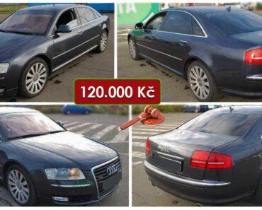 16.6.2021 Aukce automobilu Audi A8 4.1 TDI Quattro. Vyvolávací cena 120.000 Kč, ➡️ ID807458