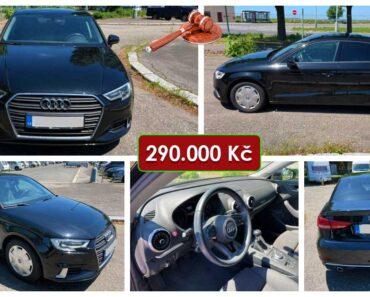 23.6.2021 Dražba automobilu Audi A3 1.6 TDI. Vyvolávací cena 290.000 Kč, ➡️ ID808785