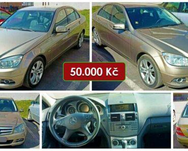 13.7.2021 Dražba automobilu Mercedes-Benz C 200 CDI. Vyvolávací cena 50.000 Kč, ➡️ ID807648