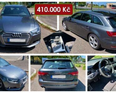 23.6.2021 Dražba automobilu Audi A4 Avant 2.0 TDI Quattro sport. Vyvolávací cena 410.000 Kč, ➡️ ID808808