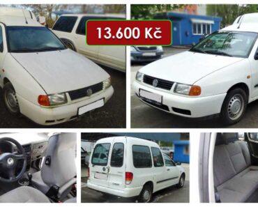 Do 19.6.2021 Aukce automobilu VW Caddy1,9. Vyvolávací cena 13.600 Kč, ➡️ ID808694