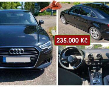 23.6.2021 Dražba automobilu Audi A3 1.6 TDI Limousine. Vyvolávací cena 235.000 Kč, ➡️ ID808797