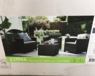 25.6.2021 Aukce nábytku (Zahradní Lounge Set). Vyvolávací cena 500 Kč, ➡️ ID806846