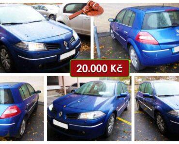Do 30.6.2021 Výběrové řízení na prodej automobilu Renault Mégane 1.9 dCi. Min. kupní cena 20.000 Kč, ➡️ ID807971