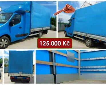 13.7.2021 Dražba nákladního automobilu Renault Master. Vyvolávací cena 125.000 Kč, ➡️ ID808444