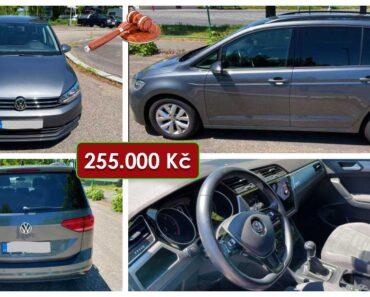 23.6.2021 Dražba automobilu VW Touran 1.6 TDI Comfortline. Vyvolávací cena 255.000 Kč, ➡️ ID808760