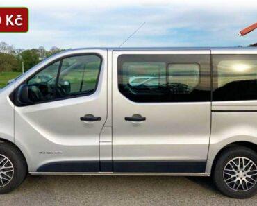 21.6.2021 Aukce automobilu Renault Trafic. Vyvolávací cena 300.000 Kč, ➡️ ID807718