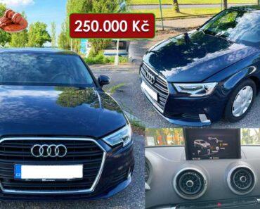 22.6.2021 Dražba automobilu Audi A3 1.6 TDI. Vyvolávací cena 250.000 Kč, ➡️ ID808294