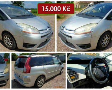 13.7.2021 Dražba automobilu Citroën C4 Picasso 2.0 HDI. Vyvolávací cena 15.000 Kč, ➡️ ID808424