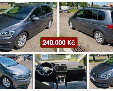 16.6.2021 Dražba automobilu VW Touran 1.6 TDI Comfortline. Vyvolávací cena 240.000 Kč, ➡️ ID807821