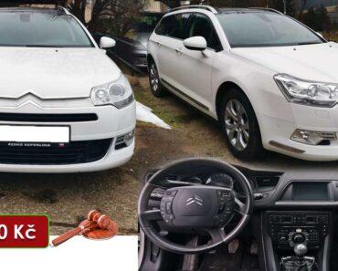 Do 24.6.2021 Aukce automobilu Citroën C5. Vyvolávací cena 43.000 Kč, ➡️ ID809053